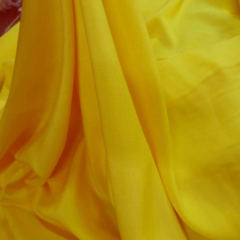 Viscose uni jaune8