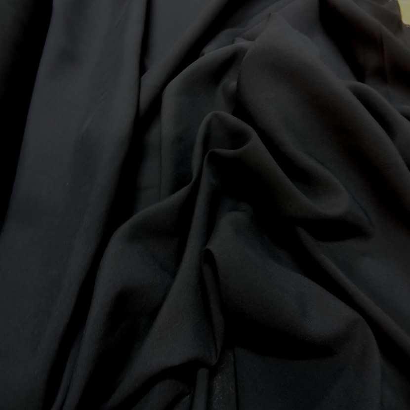 viscose uni noire