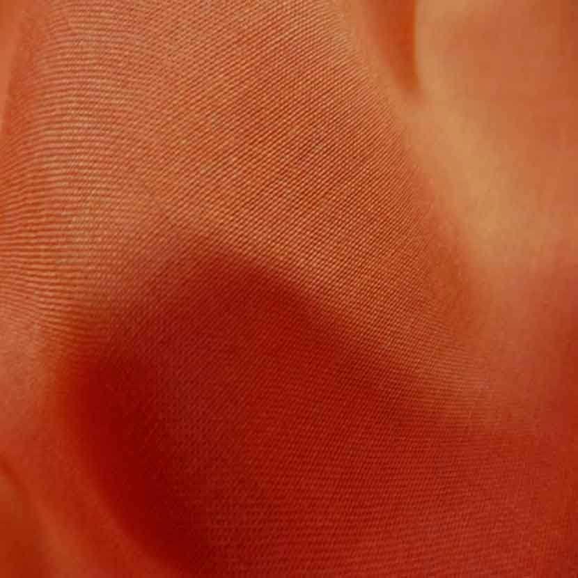 Viscose uni orange2