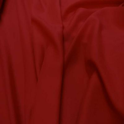Viscose uni rouge