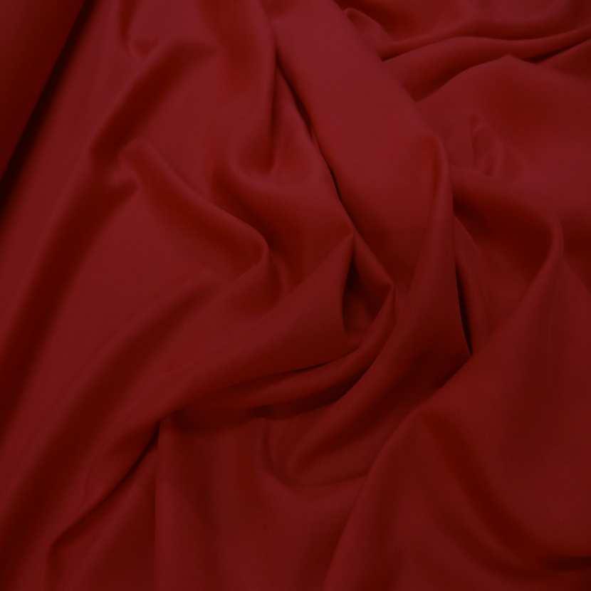 Viscose uni rouge1