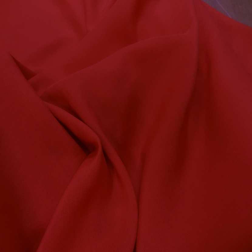 Viscose uni rouge4