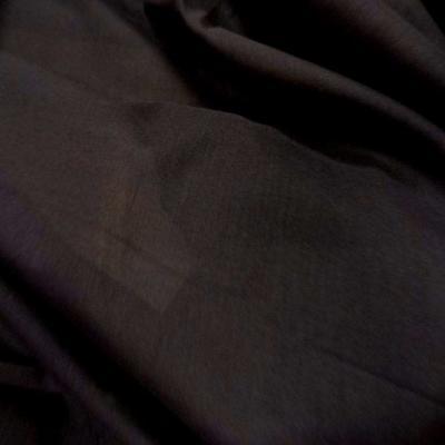 Voile de coton marron