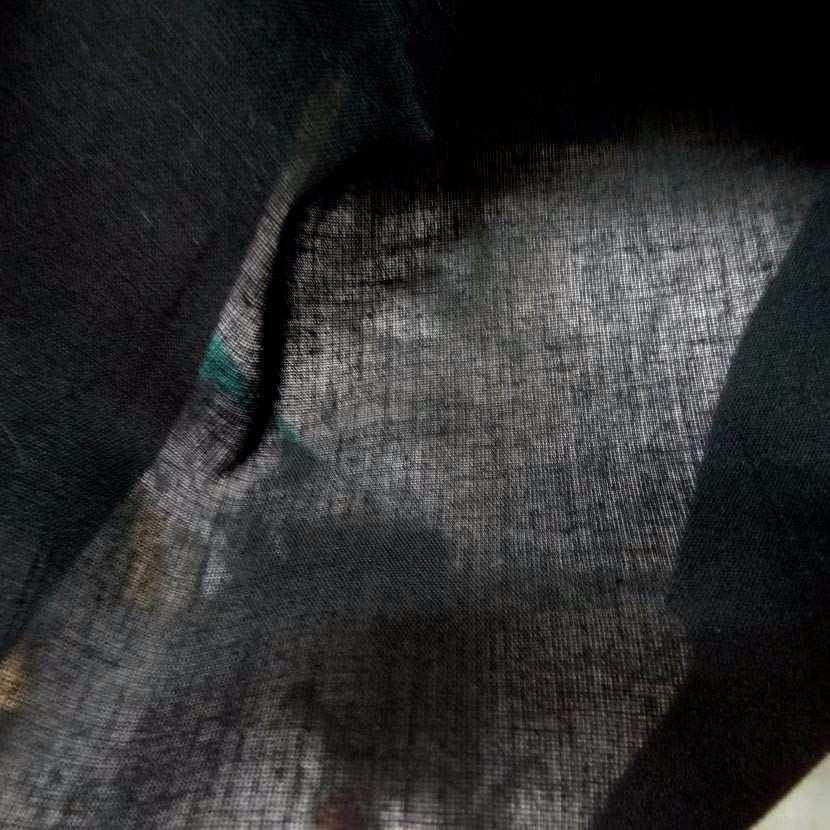 Voile de coton noir6
