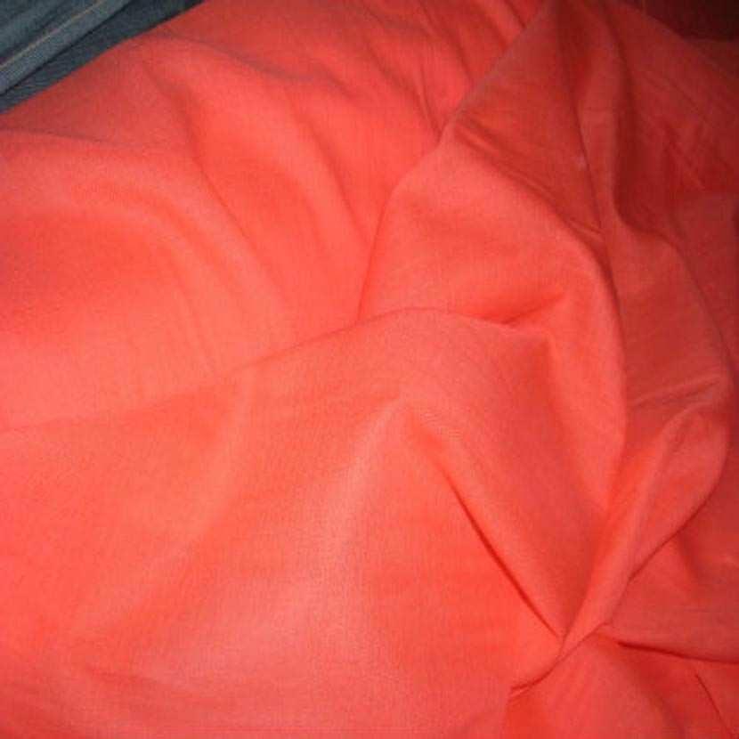 Voile de coton orange6