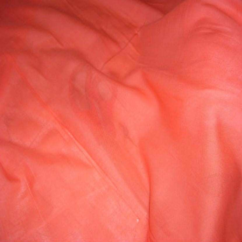 Voile de coton orange8