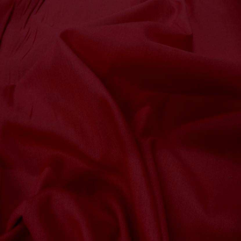 Voile de coton rouge bordeaux4