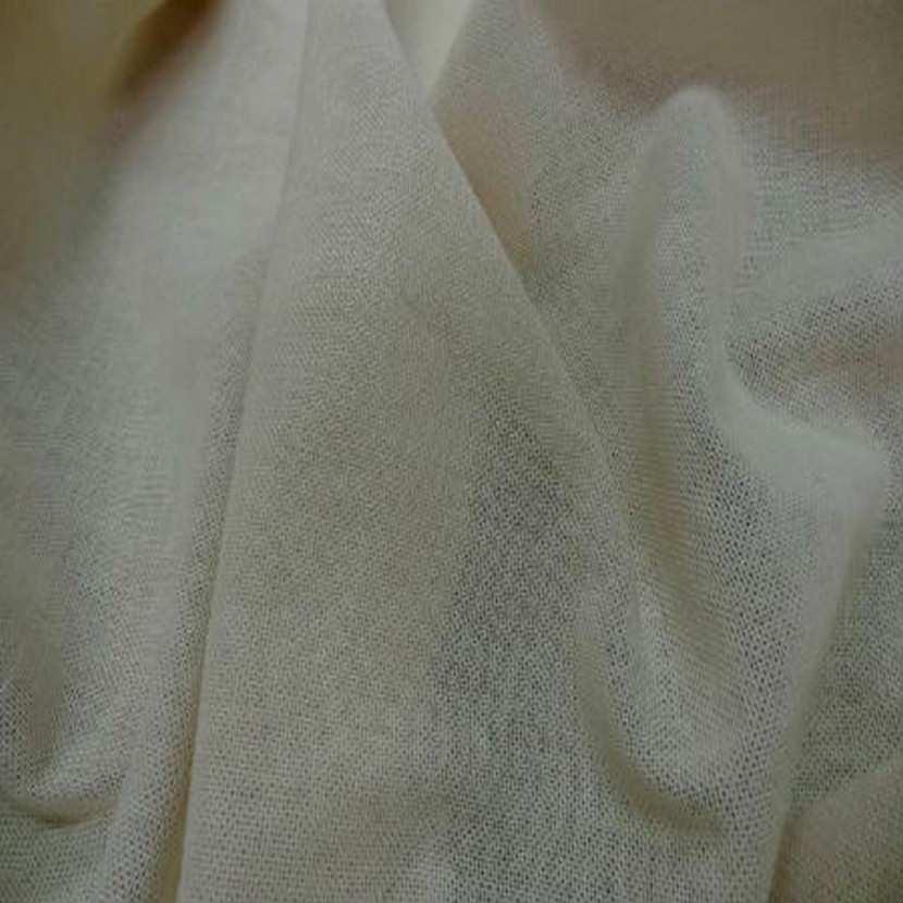 Voile de lin coton ecru1
