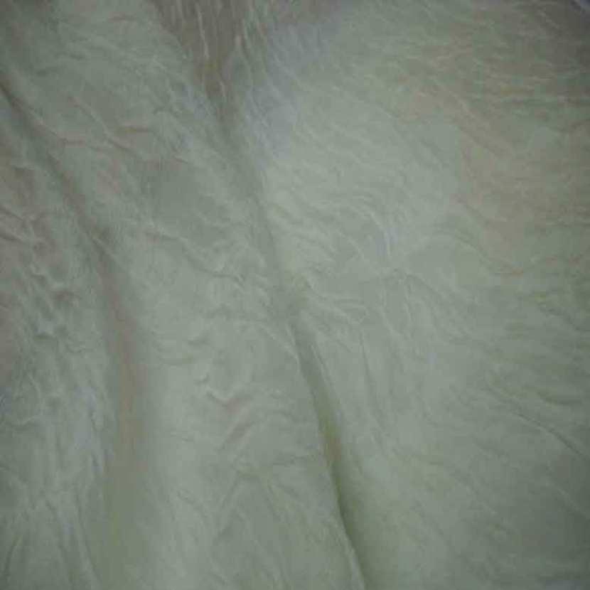 Voile de soie froisse permanent blanc casse4