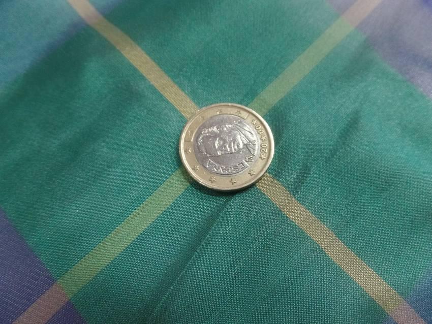 Voile de soie imprime madras vert et bleu5