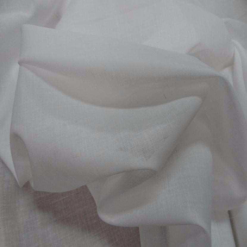 Voile en coton blanc2